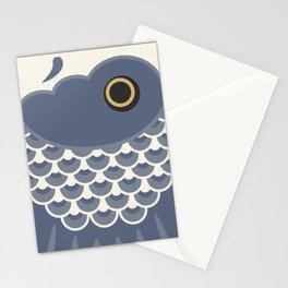 Koinobori | Grey Stationery Cards