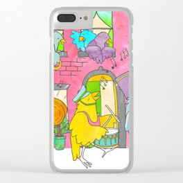 The Parade Clear iPhone Case