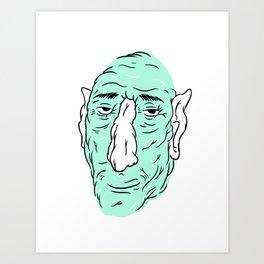Gross guy no.2 Art Print
