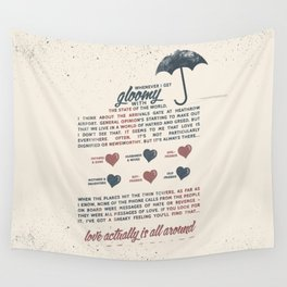 Love Actually Wall Tapestry