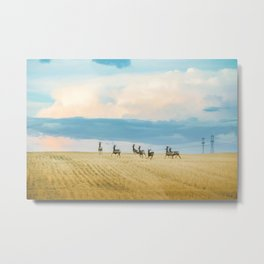 Goodbye Summer Metal Print