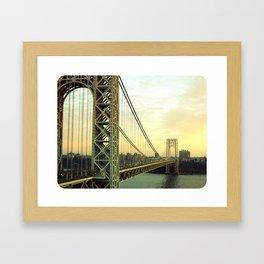 Gateway to NYC Framed Art Print