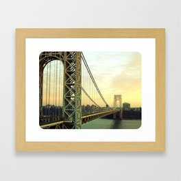 Gateway to NYC Framed Art Print