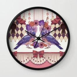 Curiouser Journey Wall Clock