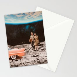 Moon date Stationery Cards