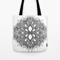plant Tote Bags featuring plant by Ichsjah