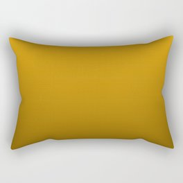 Pale Pumpkin Orange and Black Deadly Ombre Nightshade Rectangular Pillow
