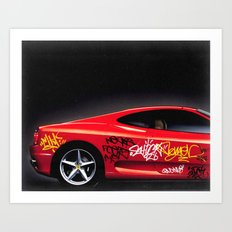 Ferrari 360 Art Print