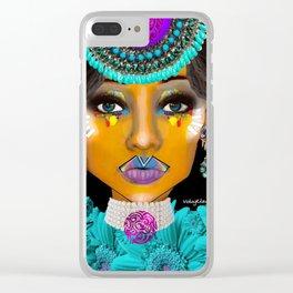 Aalayiah Clear iPhone Case