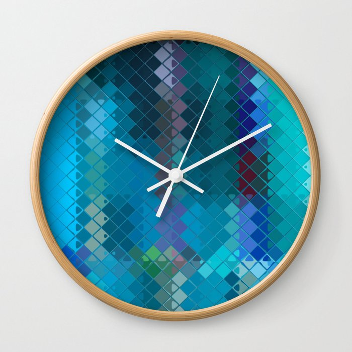 Re-Created Flying Carpet X Wall Clock
