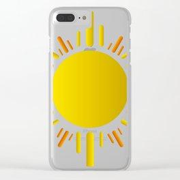 Sun Clear iPhone Case