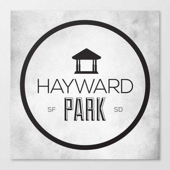 Hayward Park Canvas Print