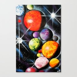 New Space Age Canvas Print