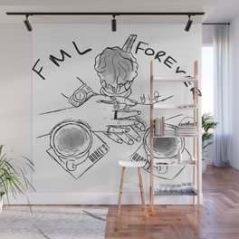"13 Reasons Why ""FML Forever Wall Mural"
