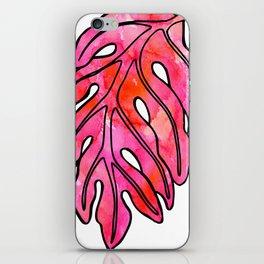 Pinky Ulu Leaf iPhone Skin