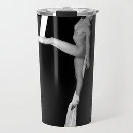 Jill Nude with Silks Travel Mug