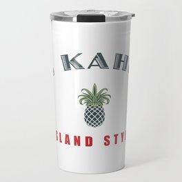 Big Kahuna Island StylePineapple Travel Mug