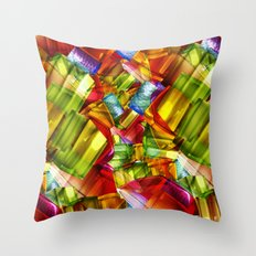 Colorize Throw Pillow