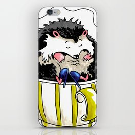Sleepy HedgeHog iPhone Skin