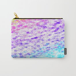 Totally Awesome 80s Colorful Ombre Carry-All Pouch