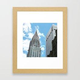 Chrysler Building New York Framed Art Print