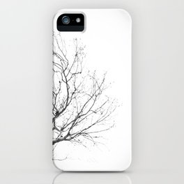 Lonely Tree 2 iPhone Case
