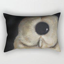 Amorphous Owl Rectangular Pillow