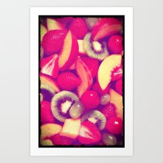 Fruits - for iphone Art Print
