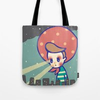 games Tote Bags featuring Girl games by littlestar cindy
