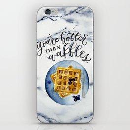 Waffle Love iPhone Skin