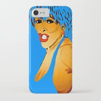 tina crespo iPhone & iPod Cases featuring Tina by Saundra Myles