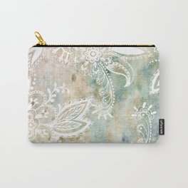Paisley Earth Carry-All Pouch
