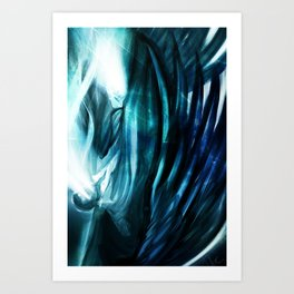 Falling Angel  Art Print