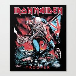 Iron Maiden - Trooper Canvas Print