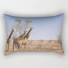 Giraffes in Kruger National Park, South Africa Rectangular Pillow