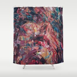 Placebo Effect Shower Curtain