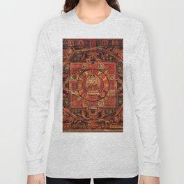Mandala of Amogapasha Long Sleeve T-shirt