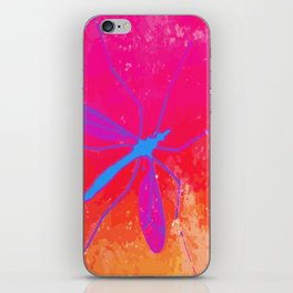 blue insect iPhone Skin