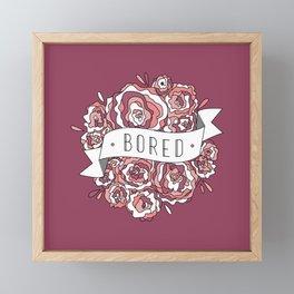 bored II Framed Mini Art Print
