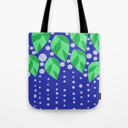 dots leaves Tote Bag