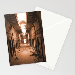 not just another abandoned place Stationery Cards