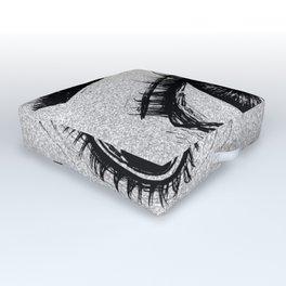 That Eyes Outdoor Floor Cushion