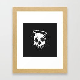 The Angel and The Gambler Framed Art Print