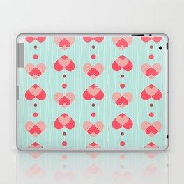Retro Hearts Laptop & iPad Skin