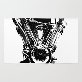 Motorcycle Engine Rug