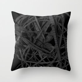 Scary spidery Throw Pillow