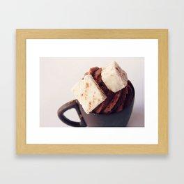 Hot Chocolate Mousse Framed Art Print