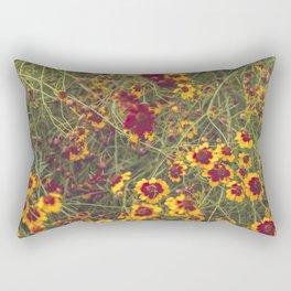 Summer Garden Flower Photography Rectangular Pillow
