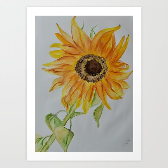 Sunflower by lorisart