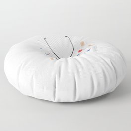 doctors equipment Floor Pillow